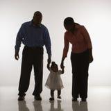 Retrato da família. Fotos de Stock Royalty Free