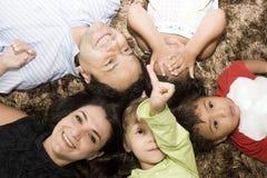 Retrato da família Imagens de Stock Royalty Free