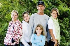 Retrato da família Foto de Stock Royalty Free