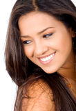Retrato da fêmea da beleza Imagem de Stock
