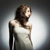 Retrato da forma da mulher nova Foto de Stock
