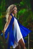 Retrato da forma da mulher sensual nova Foto de Stock Royalty Free