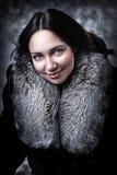 Retrato da forma da mulher 'sexy' adulta nova Fotografia de Stock