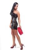 Retrato da forma da mulher 'sexy' elegante Foto de Stock Royalty Free
