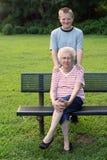 Retrato da geração Fotos de Stock Royalty Free