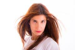 Retrato da jovem mulher foto de stock