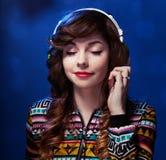 Retrato da música imagem de stock