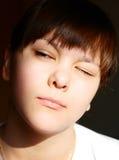 Retrato da menina. Fotos de Stock Royalty Free
