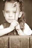 Retrato da menina Imagens de Stock Royalty Free