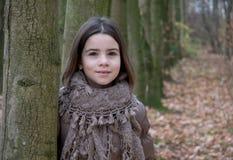 Retrato da menina Fotografia de Stock Royalty Free