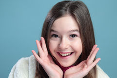 Retrato da menina. Fotografia de Stock Royalty Free