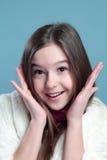 Retrato da menina. Imagens de Stock
