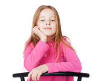 Retrato da menina Fotografia de Stock