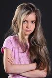Retrato da menina Foto de Stock Royalty Free