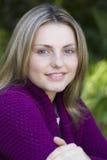 Retrato da menina adolescente fotos de stock royalty free