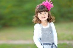 Retrato da menina ao ar livre Imagens de Stock Royalty Free