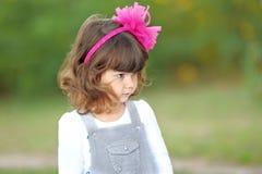 Retrato da menina ao ar livre Imagem de Stock