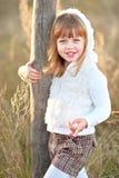 Retrato da menina ao ar livre Fotos de Stock Royalty Free