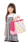 Retrato da menina asiática pequena Fotos de Stock