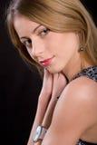 Retrato da menina bonita Fotos de Stock Royalty Free