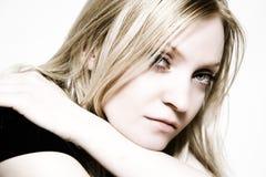 Retrato da menina bonita Imagem de Stock Royalty Free