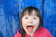 Retrato da menina bonita Imagem de Stock