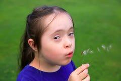 Retrato da menina bonita Imagens de Stock
