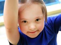 Retrato da menina bonita Foto de Stock Royalty Free