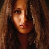 Retrato da menina bonita. Foto de Stock Royalty Free