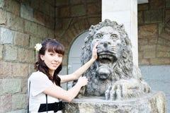 Retrato da menina bonita nova Fotografia de Stock Royalty Free