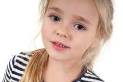 Retrato da menina bonito Fotografia de Stock