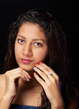 Retrato da menina carnudo Imagem de Stock