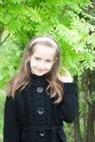 Retrato da menina com cabelo longo Foto de Stock Royalty Free