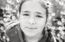 Retrato da menina consideravelmente adolescente Imagem de Stock Royalty Free