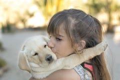 Retrato da menina da criança de 10 anos Imagens de Stock
