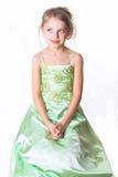 Retrato da menina da idade pré-escolar, estúdio fotografando em a Imagens de Stock Royalty Free