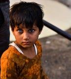 Retrato da menina da vila Fotografia de Stock Royalty Free