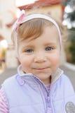 Retrato da menina de sorriso Imagens de Stock