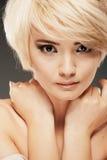 Retrato da menina de Tenageer Fotografia de Stock Royalty Free