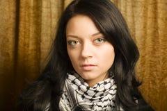 Retrato da menina do estudante Imagens de Stock