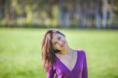 Retrato da menina do verão Foto de Stock Royalty Free