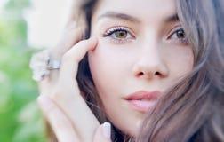 Retrato da menina do verão Mulher nova 20 Fotos de Stock