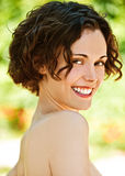 Retrato da menina encantadora Imagem de Stock Royalty Free