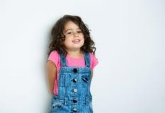 Retrato da menina feliz Imagem de Stock