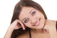 Retrato da menina fina fotografia de stock royalty free