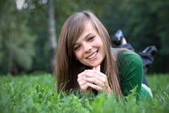 Retrato da menina lindo Imagem de Stock