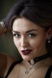 Retrato da menina loura bonita 'sexy' Imagens de Stock