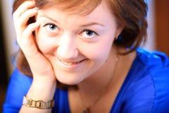 Retrato da menina moreno bonita Fotografia de Stock Royalty Free