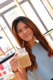 Retrato da menina tailandesa bonita Imagens de Stock Royalty Free