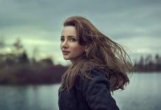 Retrato da moça Fotos de Stock